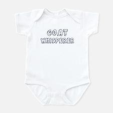 Goat Whisperer Infant Bodysuit