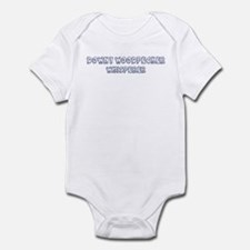 Downy Woodpecker Whisperer Infant Bodysuit