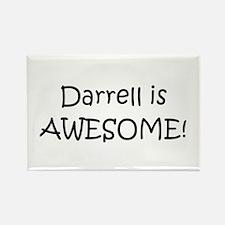 Cute Darrell Rectangle Magnet