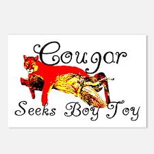 Cougar Seeks Boy Toy Postcards (Package of 8)