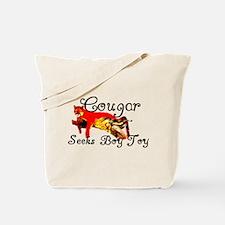 Cougar Seeks Boy Toy Tote Bag