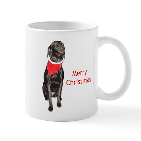 merry Christmas lab Mug