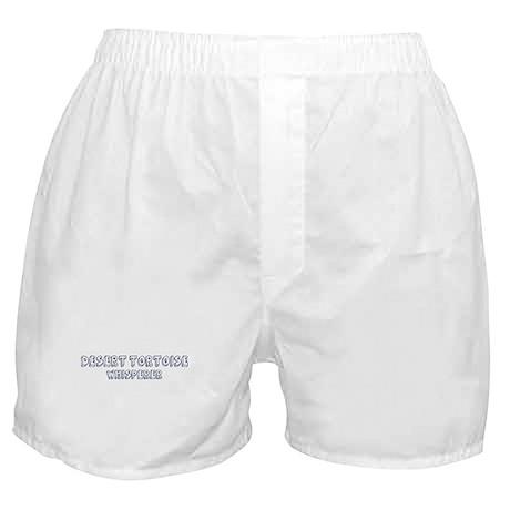 Desert Tortoise Whisperer Boxer Shorts