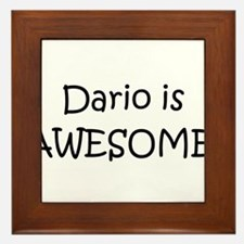 Dario Framed Tile