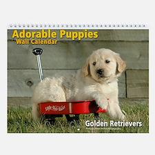 Adorable Golden Retriever Puppies Calendar