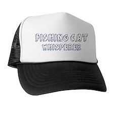 Fishing Cat Whisperer Trucker Hat