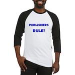 Publishers Rule! Baseball Jersey