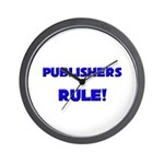 Publishers Rule! Wall Clock
