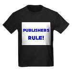 Publishers Rule! Kids Dark T-Shirt