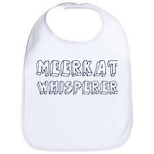 Meerkat Whisperer Bib