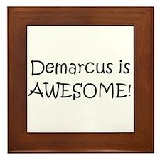 Cool Demarcus Framed Tile