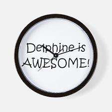 Delphine Wall Clock