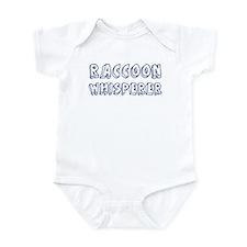 Raccoon Whisperer Infant Bodysuit