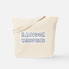 Raccoon Whisperer Tote Bag