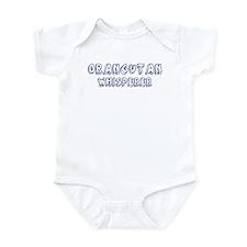 Orangutan Whisperer Infant Bodysuit