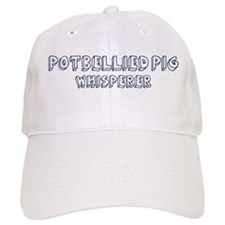 Potbellied Pig Whisperer Baseball Cap
