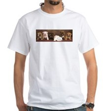 Bulldog puppy White T-Shirt