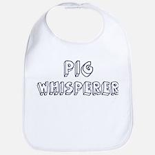 Pig Whisperer Bib