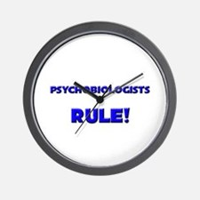Psychobiologists Rule! Wall Clock