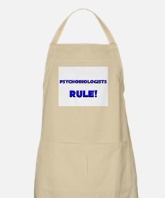 Psychobiologists Rule! BBQ Apron