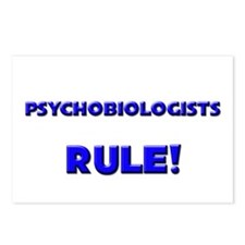 Psychobiologists Rule! Postcards (Package of 8)