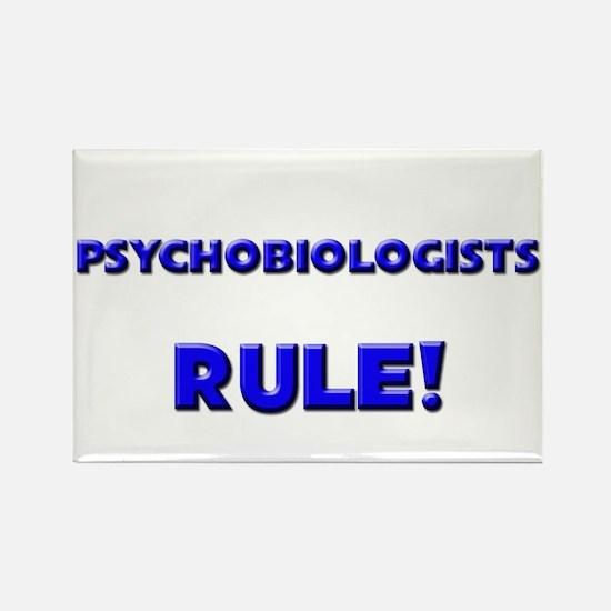Psychobiologists Rule! Rectangle Magnet