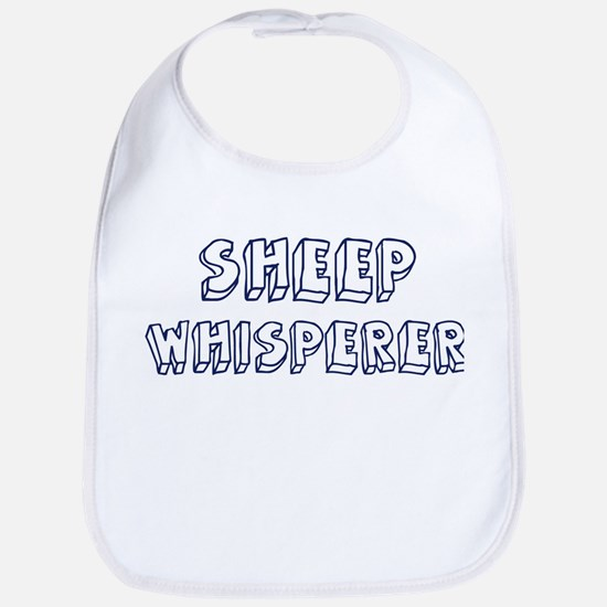 Sheep Whisperer Bib