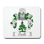 Osella Family Crest Mousepad