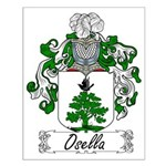 Osella Family Crest Small Poster