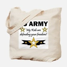 My Kids are .. US Army Tote Bag