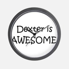 Cute Awesome dexter Wall Clock