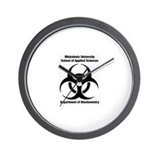 Unique Biohazard Wall Clock