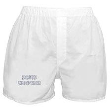 Squid Whisperer Boxer Shorts