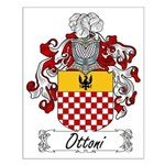 Ottoni Family Crest Small Poster