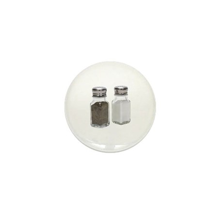 Some Salt & Pepper On Your Mini Button (10 pack)