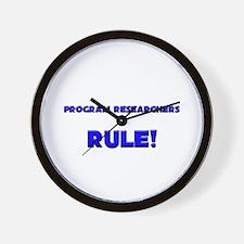 Program Researchers Rule! Wall Clock