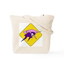 Tackle Like a Girl! Tote Bag
