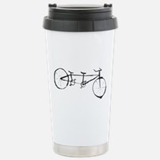 Funny Bicycle tandem Travel Mug