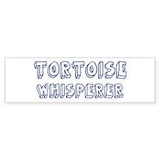 Tortoise Whisperer Bumper Bumper Sticker