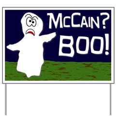 McCain? Boo! Halloween Yard Sign