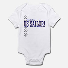 Proud of my Sailor Infant Bodysuit