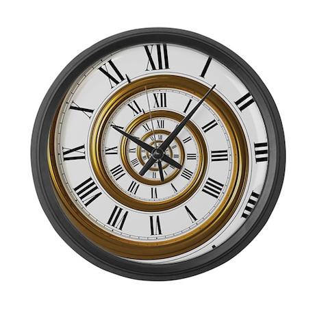 Spiral Large Wall Clock