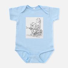Catoons™ Firefighter Cat Infant Bodysuit