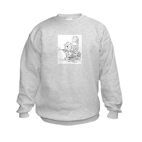 Catoons™ Firefighter Cat Kids Sweatshirt
