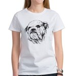 Drawn Head Women's T-Shirt