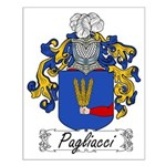 Pagliacci Family Crest Small Poster