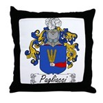 Pagliacci Family Crest Throw Pillow