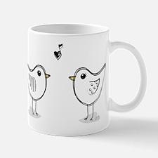 SCRIBBLE LOVEBIRDS by Kim Y. Mug