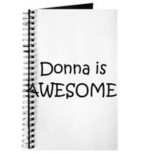 Unique Donna Journal