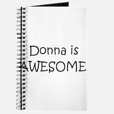 Unique Donna Journal